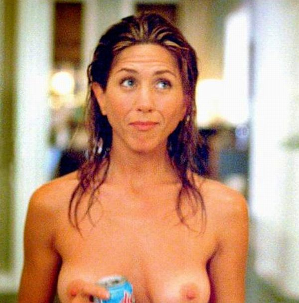 Jennifer aniston boobs pancake