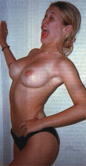 Jo O' Meara Topless Home Snapshots Exposed!