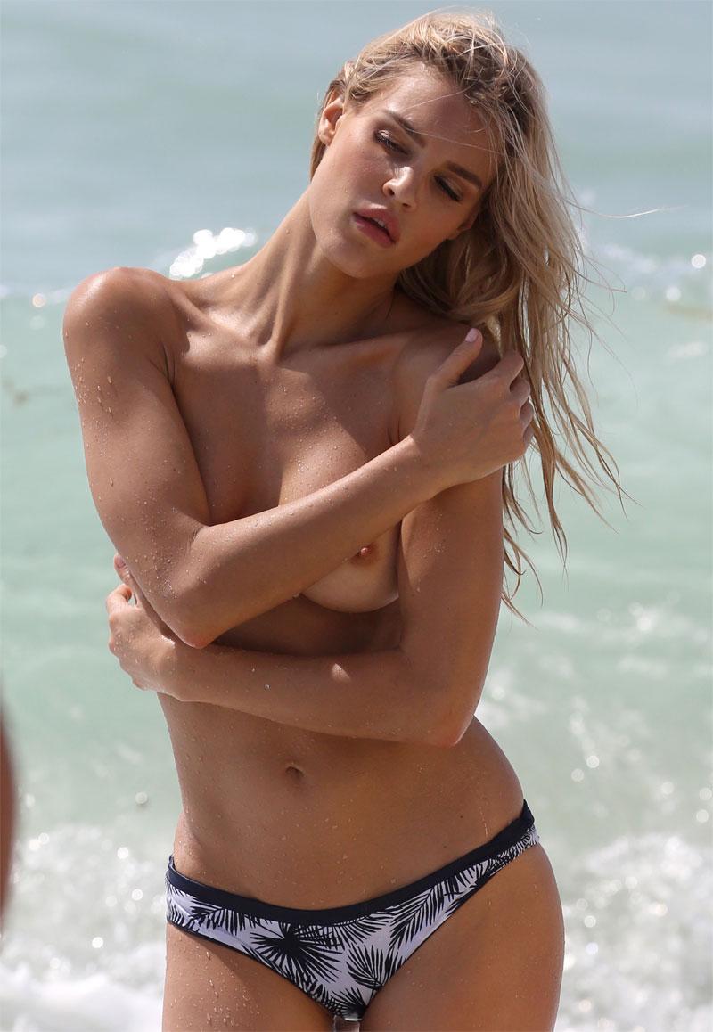 Joy Corrigan Naked joy corrigan topless on a beach photoshoot - taxi driver movie