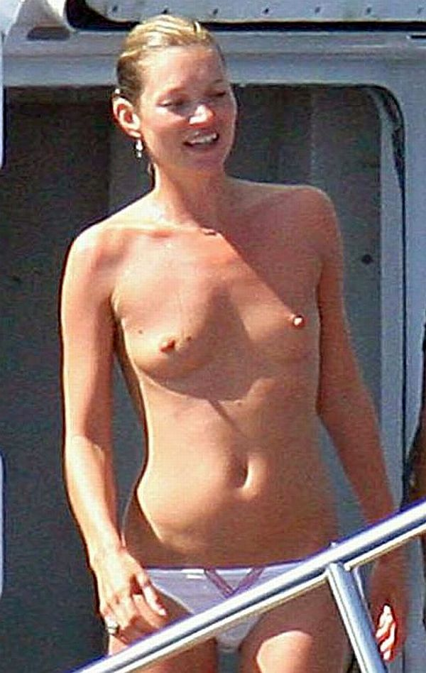 Kate Moss Topless