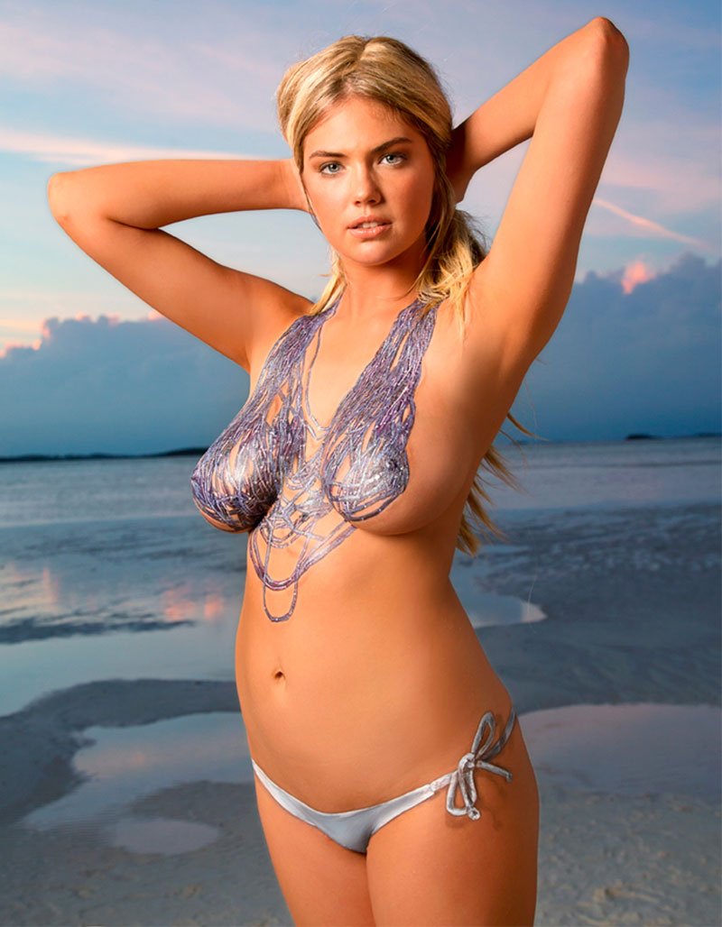 upskirt painting pussy FINALLY Kate Upton Topless with Only Body Paint = NIPPLES on  TaxiDriverMovie.com