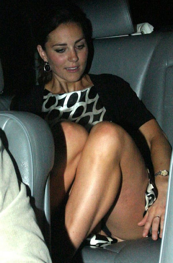 Kate Middleton Weekly Panty Upskirt