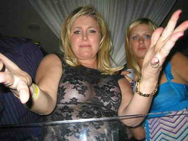 """Kathy Hilton, See Through Tit Shot Makes It """"Like Daughter, Like Mother"""""""