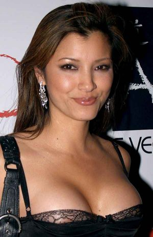 Kelly Hu, A Wisp, A Hint Of Your Aureola Makes the Dress Look Even MORE Sexy. Thanks Tim