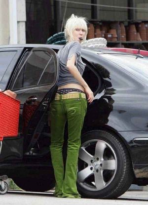Kimberly Stewart,  Low Riders? Or Hike Up Your Pants. Your Thong Is Showing.