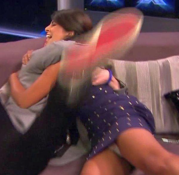 Konnie Huq Panty Upskirt As Seen On UK's X-Factor