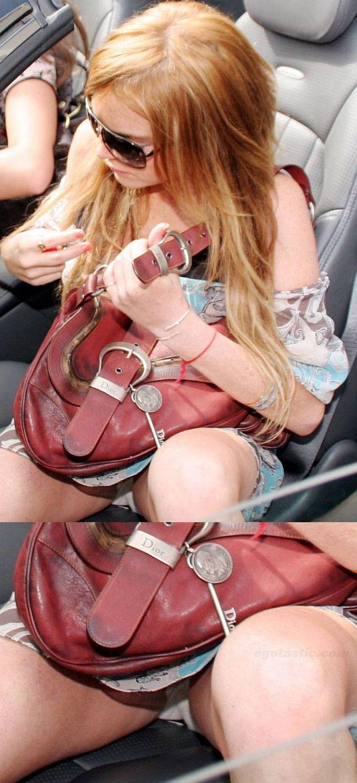 Lindsay Lohan Panty Upskirt. Thanks To EGOTASTIC!