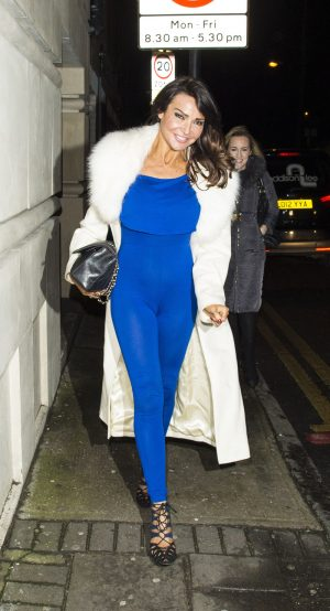 Lizzie Cundy Cameltoe in her Blue Jumpsuit