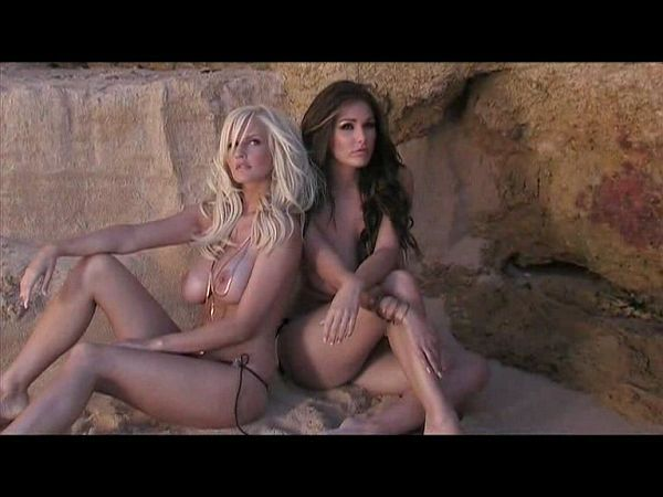 Lucy Pinder and Michelle Marsh Topless MAXIM Photoshoot