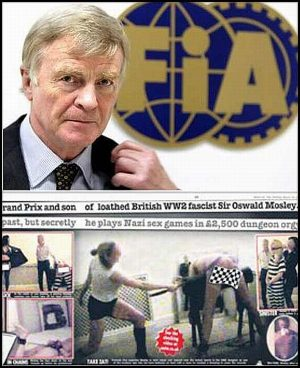 F1 President, Max Mosley, In S&M Sex Tape Leak