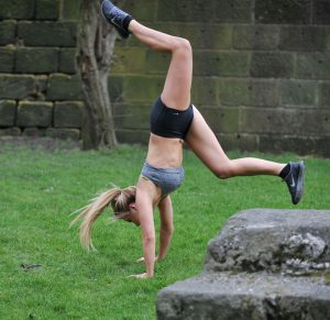 Melissa Reeves Work Out Cameltoe