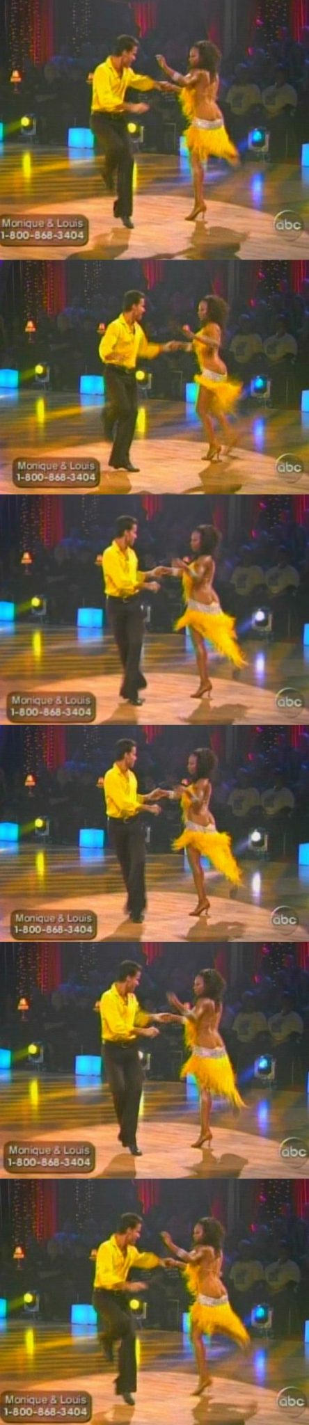 "Monique Coleman Wardrobe Malfunction On ""DANCING WITH THE STARS"". Higher Quality Pic ..."