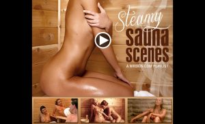 The Finest Steamy Sauna Scenes