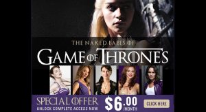 The Naked Babes of Game Of Thrones