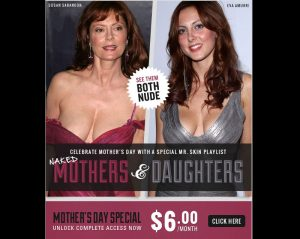 Mothers & Daughters Naked – Happy Mother's Day