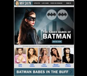 The Naked Babes Of Batman