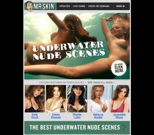 The Best Underwater Nude Scenes