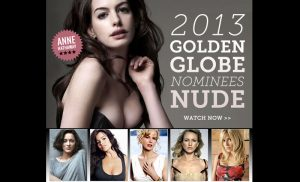 2013 Golden Globe Nominees Nude