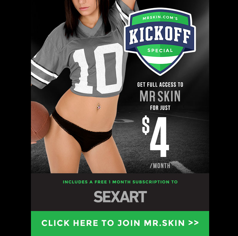 Mr.Skin's NFL Kickoff Weekend 2018 Four Dollar Special