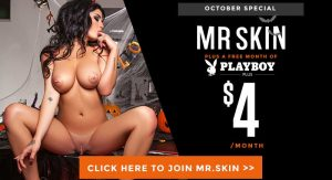 A Month of Playboy and Mr.Skin for Only  Bucks