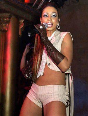 Mya Harrison, HUGE Cameltoe On Stage Keeps Those Fans Coming Back For More.
