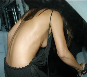 Myleene Klass's Tit From A Side View Is Just As Good As A Tit Slip