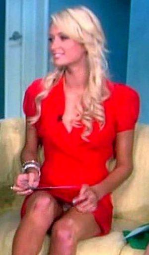 Paris Hilton Panty Upskirt On THE VIEW