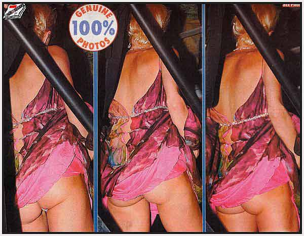 Paris Hilton, With A Sagging Ass Like This, You Would Do Well To Stick With The Front