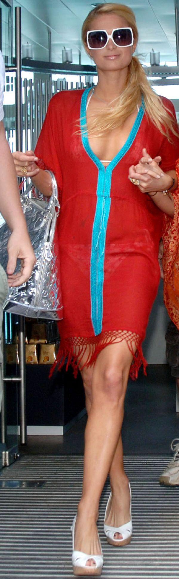 Paris Hilton See Through Dress