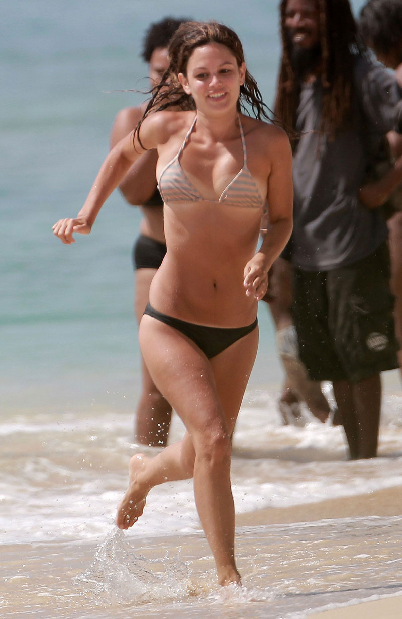 ... Rachel Bilson Slight Pokies & PERFECT Tan Lines