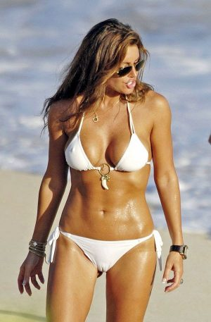 Tiger Woods GF, Rachel Uchitel Bikini Cameltoe