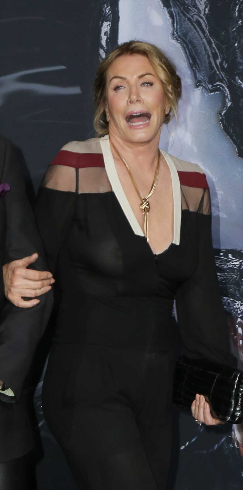 Shannon Tweed Nipples on the Red Carpet