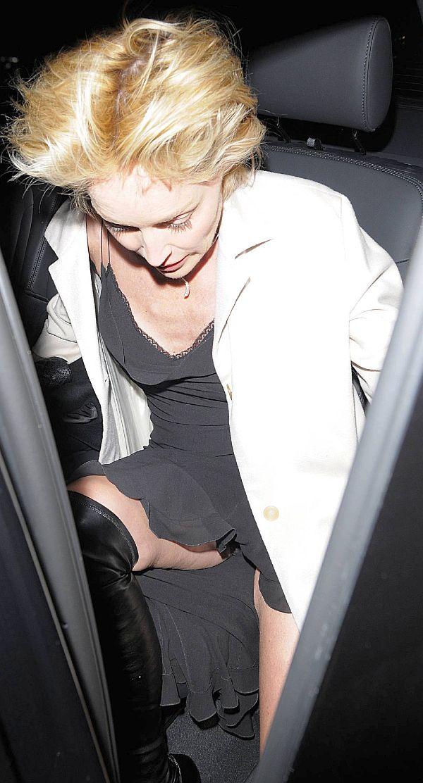 Sharon stone up skirt