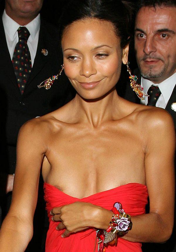 Thandie Newton Nip Slips