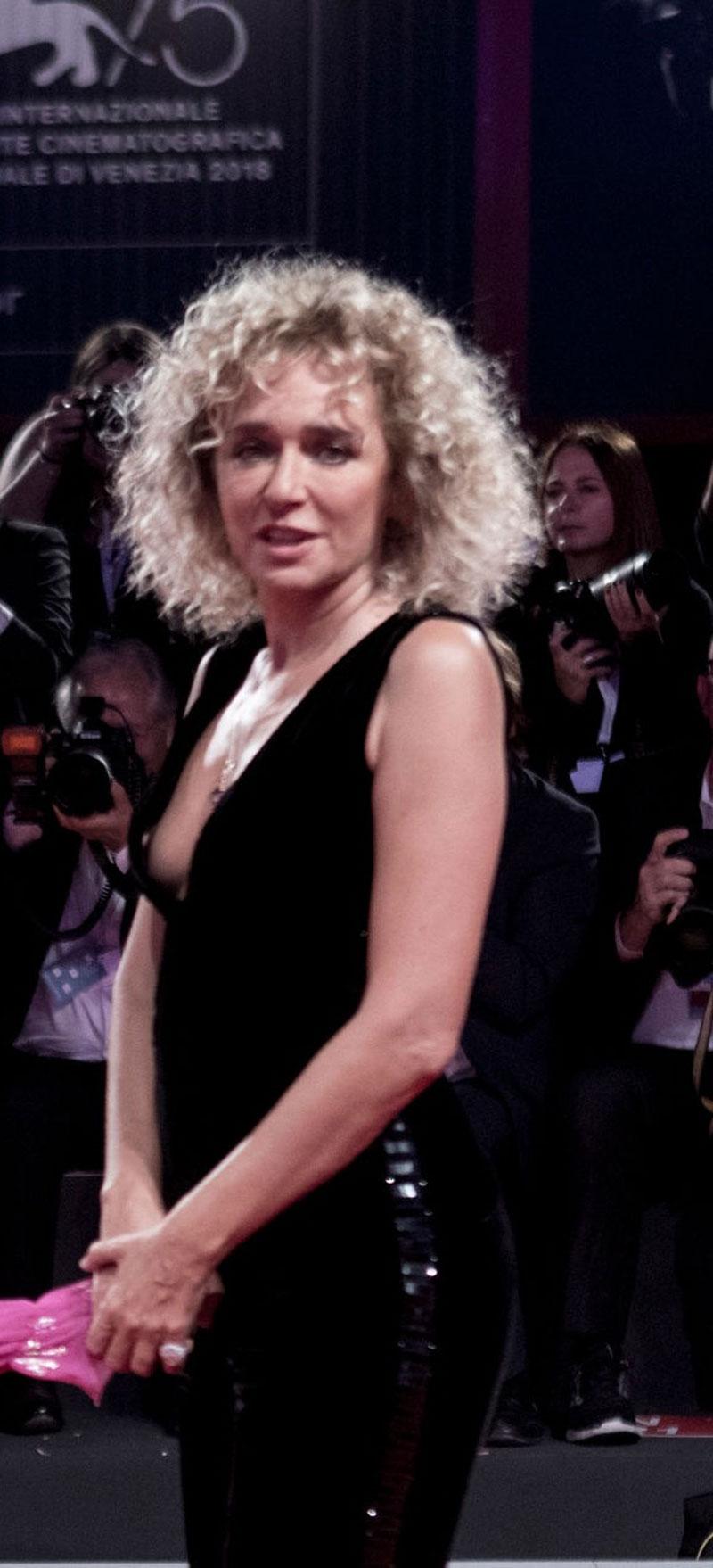 Valerina Golino Nipple Peek on the Red Carpet