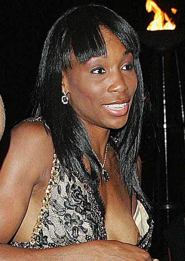 Venus Williams Nip Slip At The Champions Dinner. Thanks To Sforsdyke
