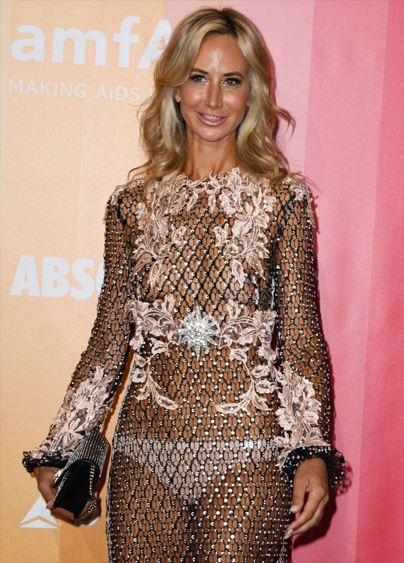 Victoria Hervey Breasts & Pantys in a Flimsy Gown