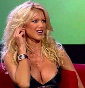 Victoria Silvstedt TV Nip Slip