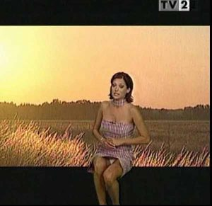 Gael Neommi, Panty Upskirt Shot On Your Weather Forecast. Yes, Indeed, it DOES Look Like It&#821 ...