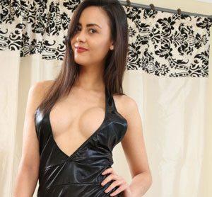 Maria West Wet Look Dress