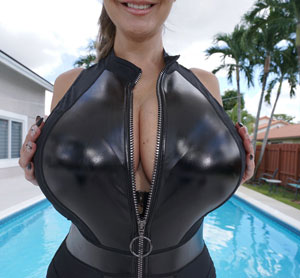 Ava Addams in Latex