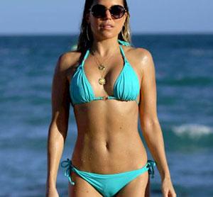 Sylvie Meis got Bikini Camel Toe