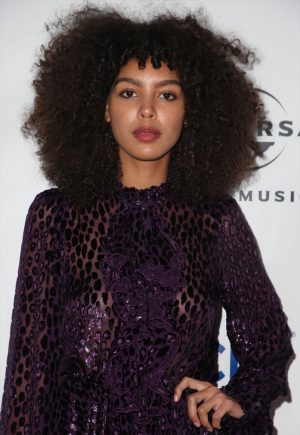Arlissa Braless in See-Through Gown