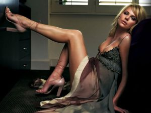 Top 10 Hottest Blonde Celebrity Charlize Theron #5