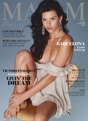 Georgia Fowler Maxim Mag Covergirl