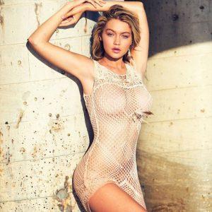 Top 10 Hottest Blonde Celebrity Gigi Hadid #9
