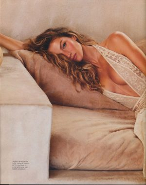 Gisele Bundchen in Harpers Bazaar