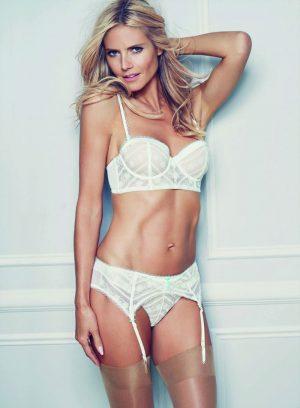 Top 10 Hottest Blonde Celebrity Heidi Klum #8