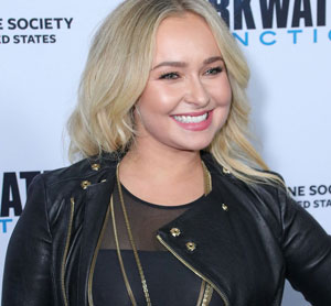 Hayden Panettiere in Leather
