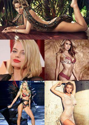 Top 10 Hottest Blonde Celebrity Scarlett Johansson #1